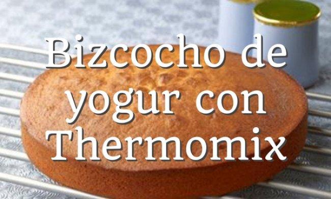 Bizcocho de yogur Thermomix